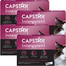 4-PACK CAPSTAR Pink for Cats 2-25 lbs (24 tablets)
