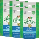 Greenies Feline Dental Treats - Tempting Tuna Flavor 6-Pack (15 oz)