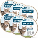 6-PACK Seresto Flea & Tick Collar for Cats