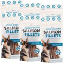 6-PACK Snack 21 Wild Pacific Salmon Fillets for Big Dogs (390 g)