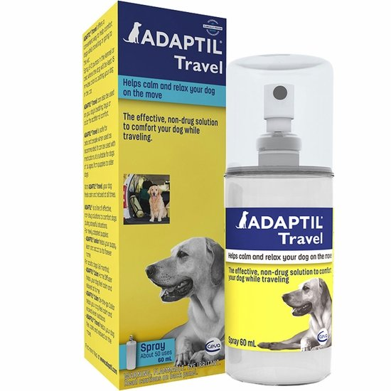 ADAPTIL Travel Calming Spray for Dogs (60 mL)