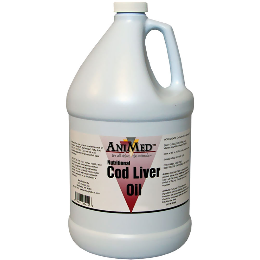 AniMed Cod Liver Oil Pure (32 oz) | On Sale | HealthyPets