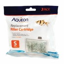 Aqueon Replacement Filter Cartridges Small (3 pk)