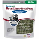 Ark Naturals Gray Muzzle Breath-Less Brushless Toothpaste Large Senior Dog Chews, 7.8-oz