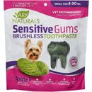 Ark Naturals Sensitive Gums Brushless Toothpaste 4-in-1 Dog Dental Chews