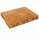 "Aspen Pet Antimicrobial Deluxe Pillow (27"" x 36"") - Caramel/Stripe Chenille"