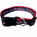 Atlanta Braves Collar - Ribbon (Large)