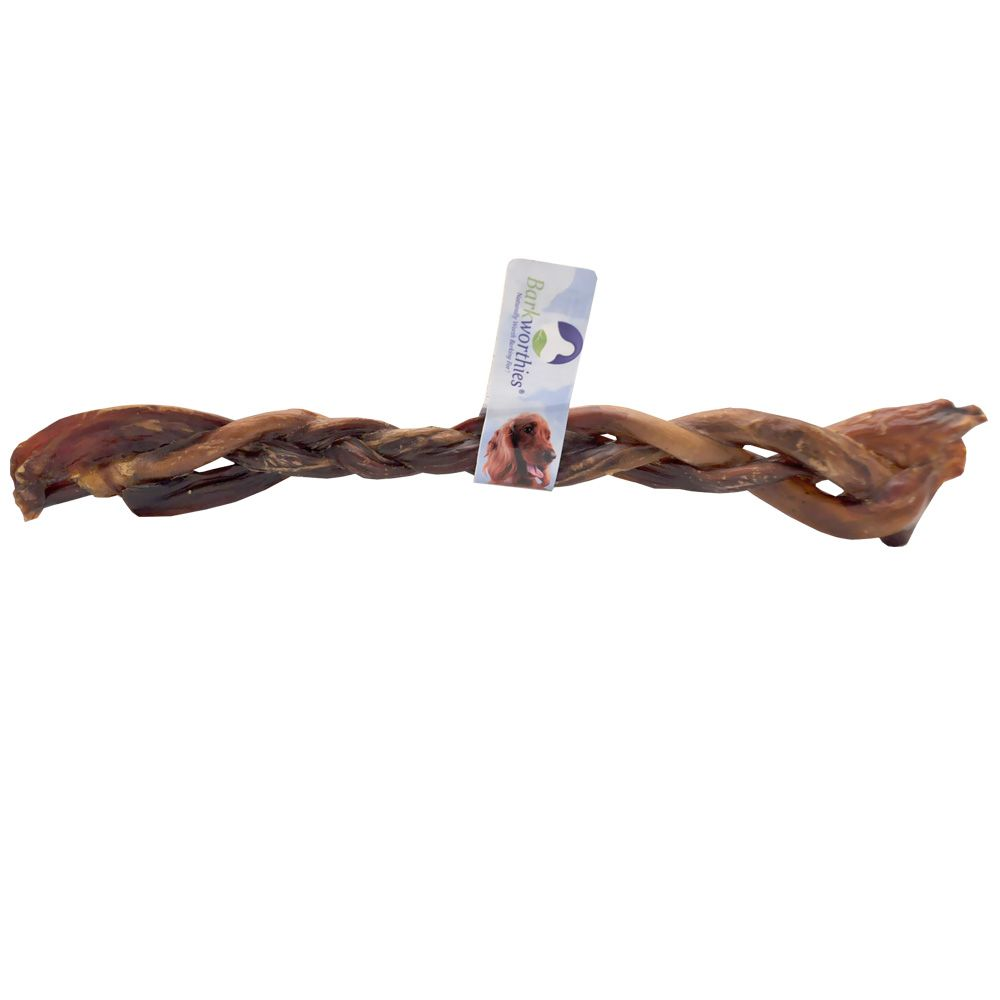 Barkworthies Braided Pork Pizzle 12 Quot Healthypets