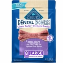 Blue Buffalo Dental Bones 12oz - Large (8 Bones)