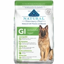 Blue Buffalo Natural Veterinary Diet - GI Gastrointestinal Support Dry Dog Food (22 lb)