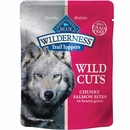 Blue Buffalo Wilderness Trail Toppers - Wild Cuts Chunky Salmon Bites in Hearty Gravy Dog Food (3 oz)