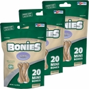 BONIES Natural Calming Formula Multi-Pack MINI 3-PACK (60 Bones)