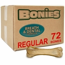 "BONIES"" Natural Dental Health BULK BOX LARGE/REGULAR (72 Bones)"