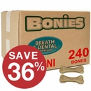 "BONIES"" Natural Dental Health BULK BOX MINI (240 Bones)"