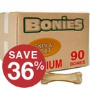 BONIES� Skin & Coat Health BULK BOX MEDIUM (90 Bones)