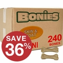 BONIES� Skin & Coat Health BULK BOX MINI (240 Bones)