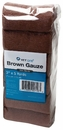 """Brown Gauze Roll Non-Sterile (3""""x5yds) - 12 pack"""