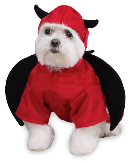 Casual Canine Devil Dog Costume - SMALL
