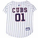 Chicago Cubs Dog Jersey - Large