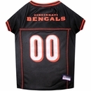 Cincinnati Bengals Dog Jersey - Large