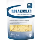 Clenz-a-dent Breakables Dental Rawhide Chews - Medium/Large (15 count)
