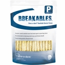 Clenz-a-dent Breakables Dental Rawhide Chews - Petite (15 count)