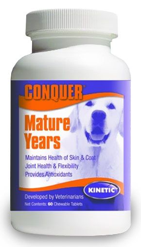 Conquer K9 Mature Years Chewables (60 ct)