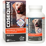 Cosequin Maximum Strength Plus MSM Joint Supplement for Dogs, 60 Chewable Tablets