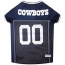 Dallas Cowboys Dog Jersey - Medium