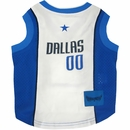 Dallas Mavericks Dog Jersey - Medium