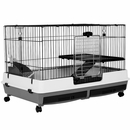 """Deluxe 2 Level Small Animal Cage XL (39""""x26""""x26"""")"""