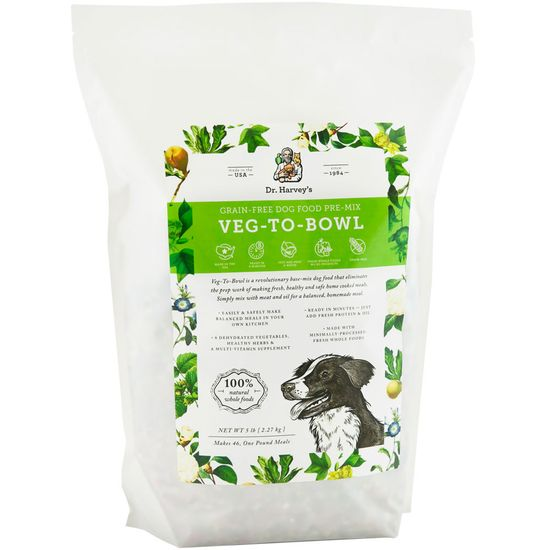 Dr. Harvey's Veg-To-Bowl Dog Food (5 lb)