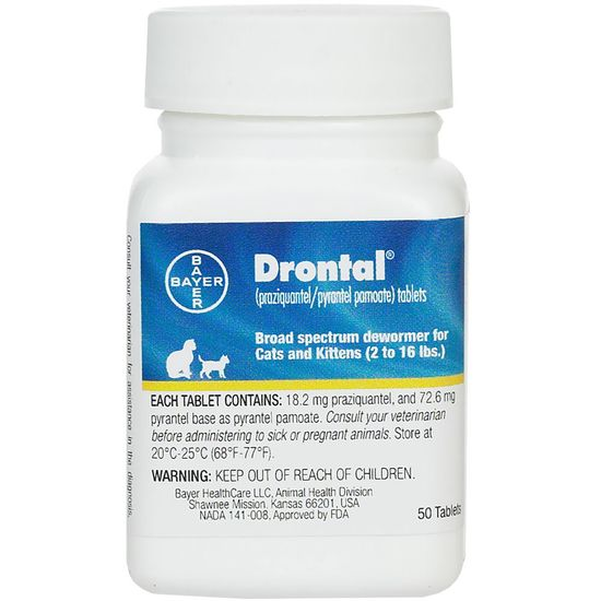 Drontal Cats (50 tabs)