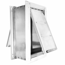 "Endura Flap Pet Door - Medium Wall Mount - Double Flap (8"" x 14"")"