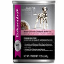 Eukanuba Adult Canned Food - Maintenance Mixed Grill with Chicken & Beef in Gravy (12x12.3oz)