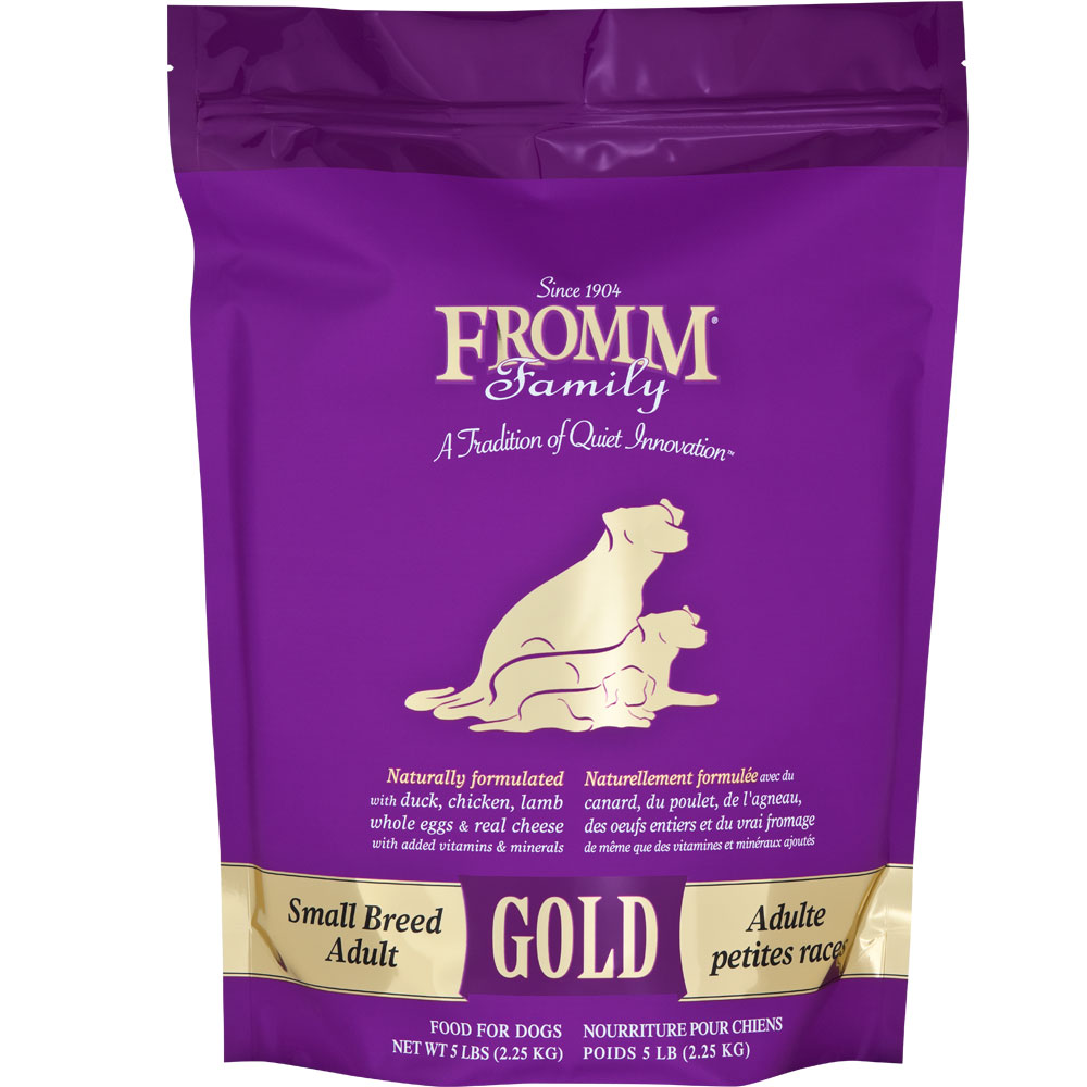 Fromm Gold Adult Dog Food Small Breed 5 Lb Healthypets
