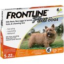 Frontline Plus for Dogs 5-22 lbs, 6 Month