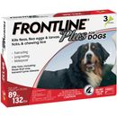 Frontline Plus for Dogs 89-132 lbs, 3 Month
