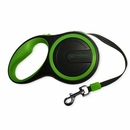 FurHaven Comfort Grip Retractable Leash - Bright Green (9')