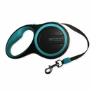 FurHaven Comfort Grip Retractable Leash - Lagoon Blue (9')