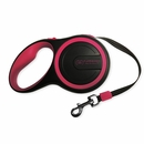 FurHaven Comfort Grip Retractable Leash - Raspberry (15')