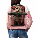FurHaven Pet Backpack-Roller Carrier - Pink