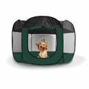 FurHaven Pet Playpen - Hunter Green (Large)