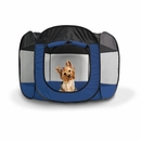 FurHaven Pet Playpen - Sailor Blue (Medium)