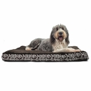 FurHaven Plush Top Kilim Deluxe Orthopedic Pet Bed - Southwest Espresso (Extra Large)