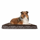FurHaven Plush Top Kilim Deluxe Orthopedic Pet Bed - Southwest Espresso (Large)