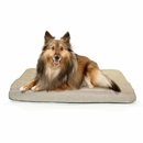 FurHaven Terry & Suede Deluxe Orthopedic Pet Bed - Clay (Medium)