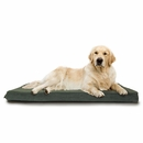 FurHaven Terry & Suede Deluxe Orthopedic Pet Bed - Forest (Jumbo)