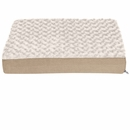 FurHaven Ultra Plush Deluxe Orthopedic Pet Bed - Cream (Small)