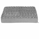 FurHaven Ultra Plush Deluxe Orthopedic Pet Bed - Gray (Small)